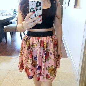 ✨Cute Floral Skirt ✨